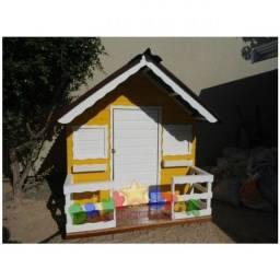 Casinha de boneca Pequena - Amarela