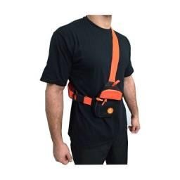Shoulder bag transversal impermeável laranja com preto entre outras cores