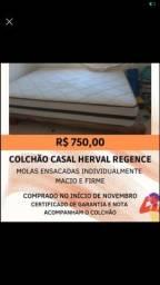 Colchão de casal Herval - 6 meses de uso