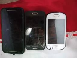 Vendo três aparelho celulares