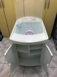 Lavadora de roupas Mueller 2kg com despensa embutida