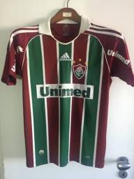 Camisa do Fluminense Tricolor 2008 2009 - Original - Usada f32d44f277262
