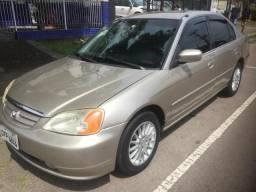 HONDA CIVIC 2002/2002 1.7 LXL 16V GASOLINA 4P AUTOMÁTICO   2002
