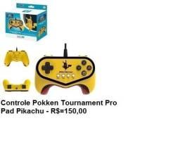 Controle Pokken Tournament Pikachu para Wii U