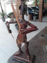 Escultura Samurai