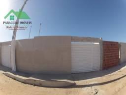 Casa nova de dois quartos em Paracuru