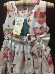 Vestido infantil Anjos Baby - Novo