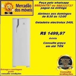 Refrigerador com 1 Porta 240 Litros em até 10x nos cartões. (Entrega grátis)