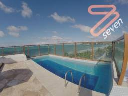 Flat - Ponta Negra - 36m2 - Beira-mar -SN