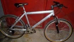 Bike caloi aro 26 toda em alumínio R$450