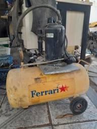 Compressor com motor de ar condicionado