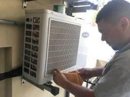 Tecnico em ar condicionado (menor preço )