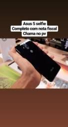 Asus 5 selfie com nota fiscal