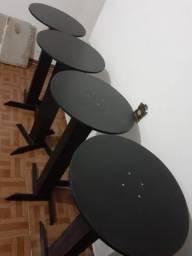 4 mesas bistro novas!