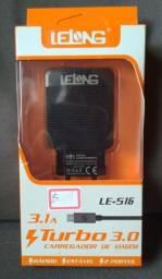 Carregador Turbo Micro-USB (V8)