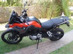 Moto bmw 850 gs premium plus com TFT big trail com 5.800kms
