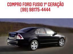 COMPRO FORD FUSION 1ª GERAÇÃO