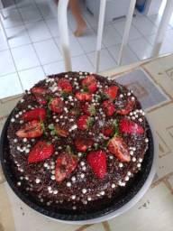 Vendo bolo vulcão