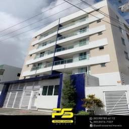 Apartamento com 3 dormitórios à venda, 143 m² por R$ 600.000,00 - Mangabeira - João Pessoa