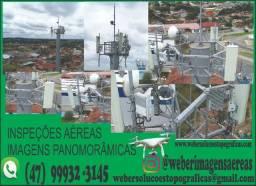 Inspeções aéreas e imagens panorâmicas