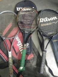 Raquete tênis.