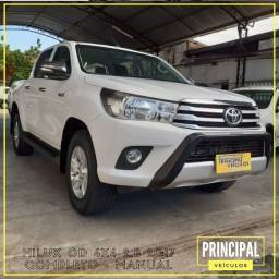 Toyota Hilux Cd 4x4 2.8 2017 Completo - Manual