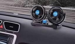 Ventilador automotivo duplo 12v