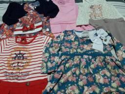 Lote roupas menina 1 a 2 anos