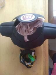 Cinta mais bolsa Airbag estourada uno Vivace