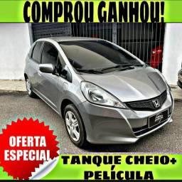 TANQUE CHEIO SO NA EMPORIUM CAR!!! HONDA FIT DX 1.4 ANO 2014 COM MIL DE ENTRADA