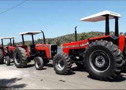 Tratores Massey Ferguson 4x4 e 4x2 disponíveis para venda