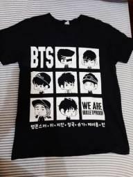 Camiseta BTS - 20 reais