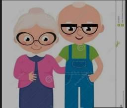 Cuidadora de idoso,