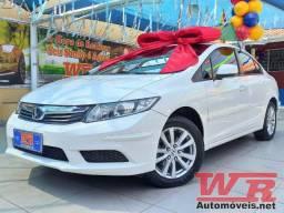 Honda Civic LXS 1.8 Flex, Único Dono