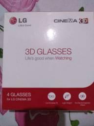 Óculos 3d caixa com 4