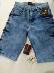 DOURADOS! Calças e bermudas jeans masculina
