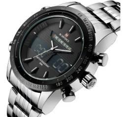 Relógio Masculino Original Naviforce Novo