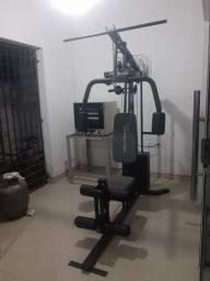 Título do anúncio: Estação De Musculação Evolution Fitness FT 8000 Aço Preto