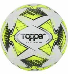 Título do anúncio: Bola Futebol Society Topper 22 Nova