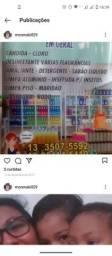 Parceria de  loja e distribuidora de limpeza e utilidades doméstica