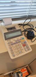 Calculadora com fita de impressão