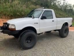 Ranger 2001 4x4 Reduzida Diesel Pneus e Freios novos