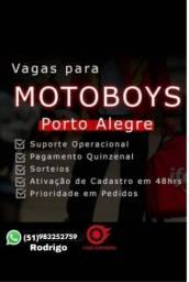 Título do anúncio: Vagas para Motoboy