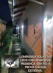 Título do anúncio: LUMINÁRIA SOLAR SENSOR DE PRESENÇA