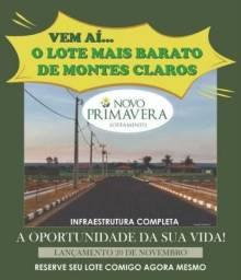 Lote para Venda em Montes Claros, Novo Primavera