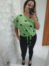 Lindas blusas Plus Size