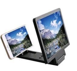 Lente Aumento de Tela 3D Suporte Ampliador - 40,00