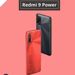 Redmi 9 Power Verde/Vermelho 4+64Gb (Câmera de 48 MP + Bateria de 6000)