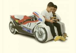 Título do anúncio: Cama Moto Ninja - Infantil - ótimo estado