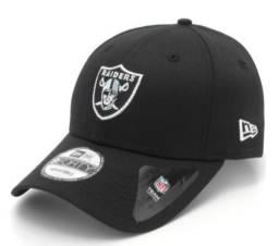 Boné New Era 940 Oakland Raiders Preto - Original